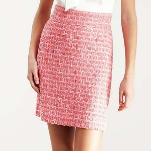 Kate Spade Delphina Woven Tweed A-line Skirt